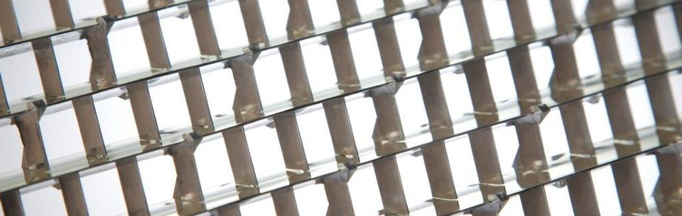 OKASOLAR 3D - High-Performance Sun Protection Grid for Roof Glazing