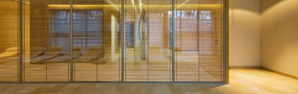 OKAWOOD Timber Grid - Insulating Glass with Functional Timber Grid